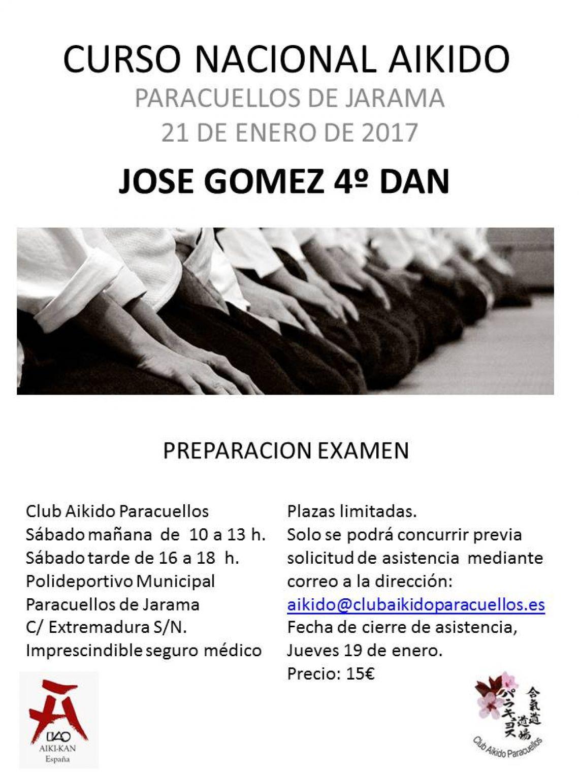 Curso Nacional preparación exámenes.